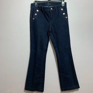 Skinny flare jeans
